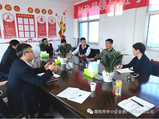 与新野县政府达成国有资产委托管理和重组合作框架意见
